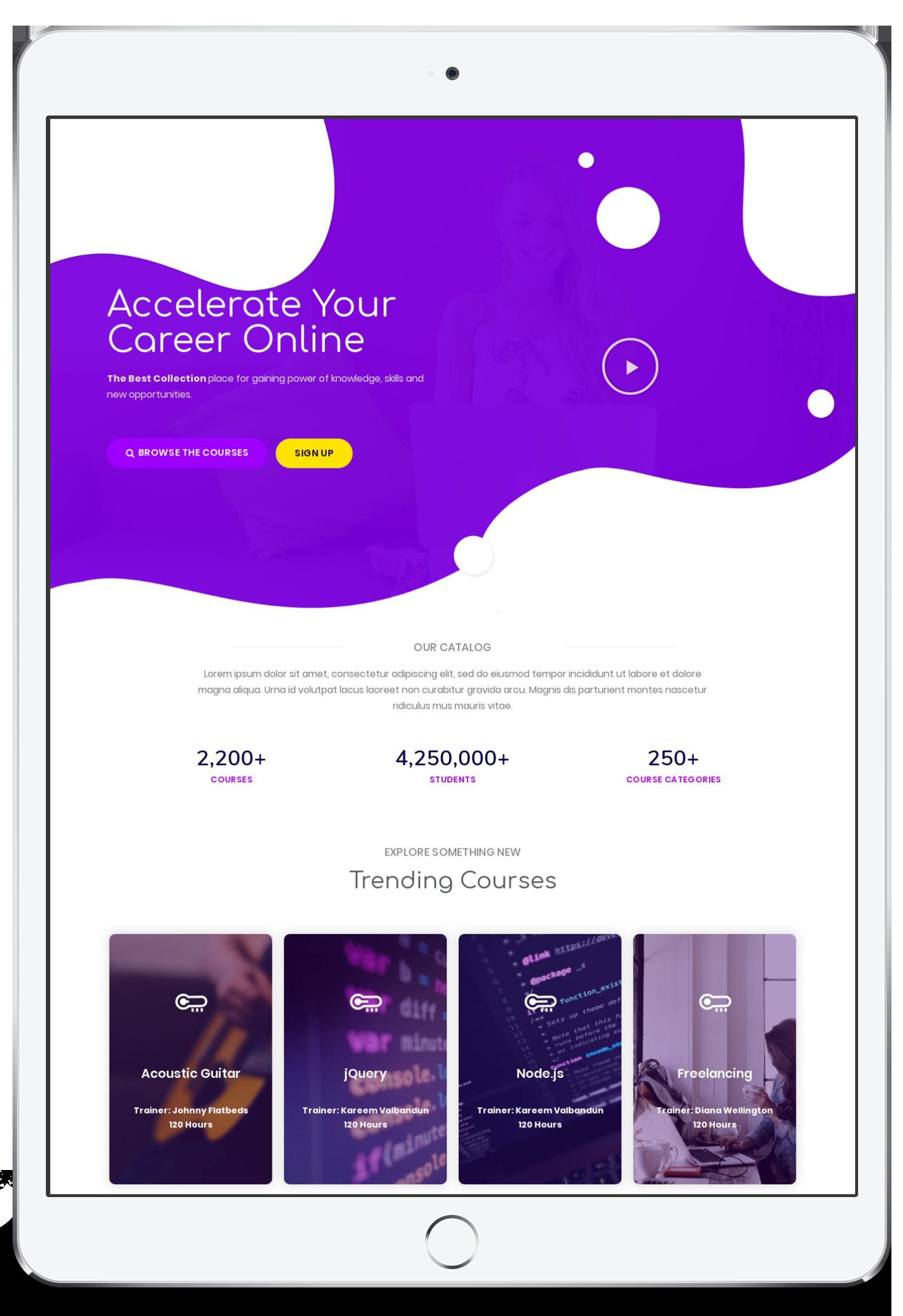 iPad-online tutor